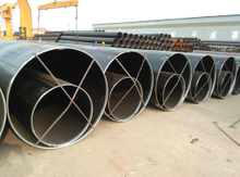 Carbon API5L LSAW steel pipe
