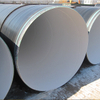 Epoxy lined steel pipes