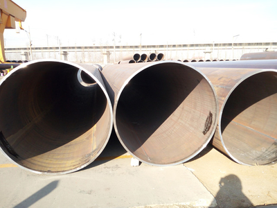 "Exported API 5L X60 LSAW (PSL-2), OD 762mm (30"") x WT 30 mm Bare Pipe"